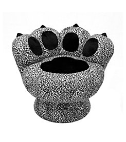 Lumisource Paw Chair™ Snow Leopard