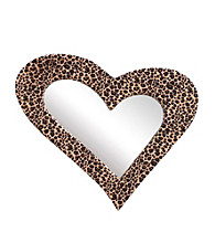 Lumisource Heart Furr Mirror Leopard