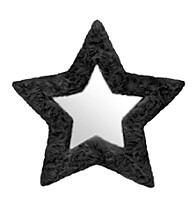 Lumisource Star Furr Mirror Black