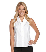 Calvin Klein Sleeveless White Blouse