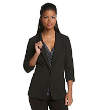 MICHAEL Michael Kors Shirred Boyfriend Jacket