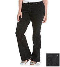 DKNY JEANS® Plus Size Soho Bootcut Five-Pocket Jeans