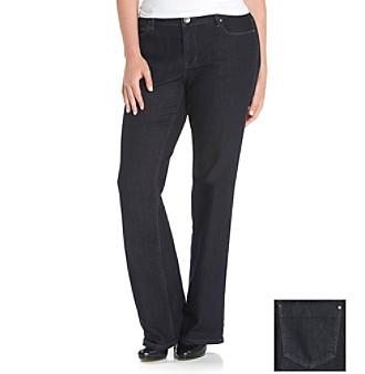 DKNY JEANS® Plus Size Soho Bootcut Five-Pocket Jeans