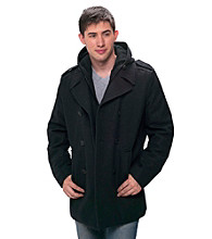 Levi's® Men's Wool Hooded Peacoat