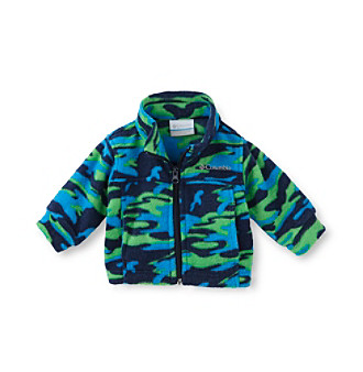 Columbia Baby Boys' Zing Fleece Jacket - Green Camo