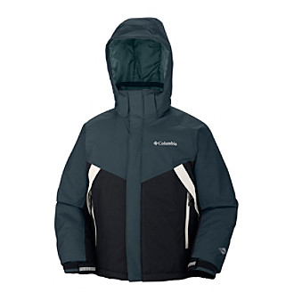 Columbia Boys' 4-20 Black Glacier Slope Jacket