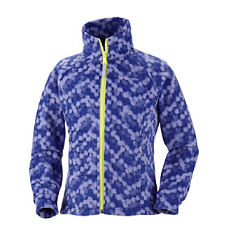 Columbia Girls' 2T-16 Printed Benton Springs™ Fleece Jacket