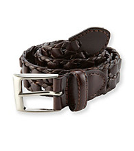 Statements Boys' Brown Woven Belt