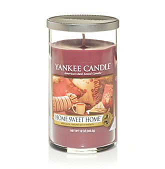 Yankee Candle Perfect Pillar Home Sweet Home Candle