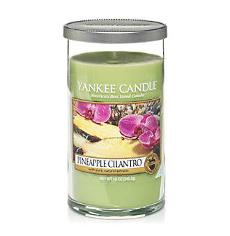 Yankee Candle® Perfect Pillar Pineapple Cilantro Candle