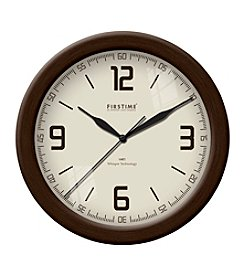 FirsTime Linen Whisper Wall Clock