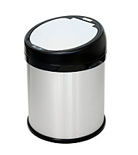 iTouchless® 8-gal. Round Extra-Wide Opening Touchless Trash Can