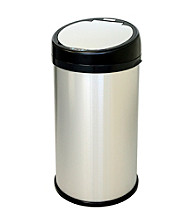 iTouchless® 13-gal. Round Extra-Wide Opening Touchless Trash Can