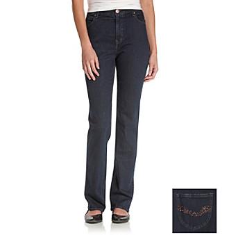Gloria Vanderbilt® Becky Comfort Waist Straight-Leg Jeans