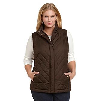Jones New York Sport® Plus Size Quilted Puffer Vest