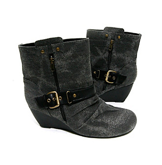 "Barefoot Tess ""Philly"" Wedge Bootie"