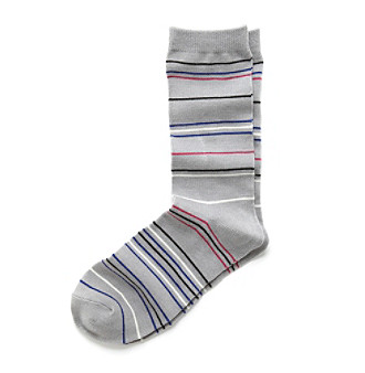 Relativity® Striped Crew Socks