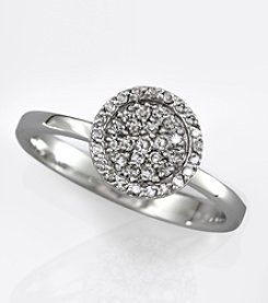 Effy® 14K White Gold Diamond Ring