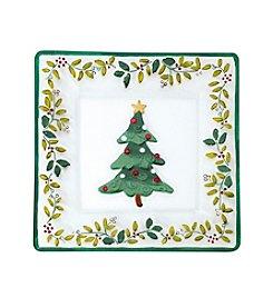 Pflatzgraff® Winterberry Square Glass Platter
