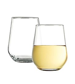 LivingQuarters 4-pc. Stemless Wine Glass Set