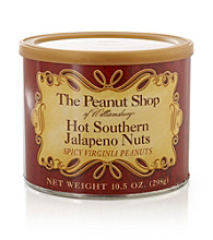 The Peanut Shop of Williamsburg Hot Southern Jalapeno Nuts