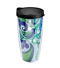 Design for Living™ Blue Paisley Sliding Tumbler