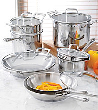 Emerilware® 12-pc. Stainless Steel Cookware Set