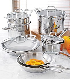 Emerilware® 12-pc. Stainless Steel Cookware Set + FREE Gift see offer details