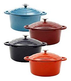 Ruff Hewn 5-qt. Cast-Iron Casserole Pan