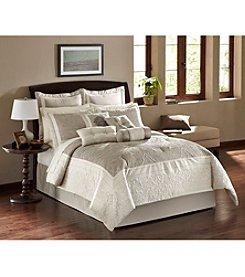 LivingQuarters Cassandra Grey 10-pc. Comforter Set
