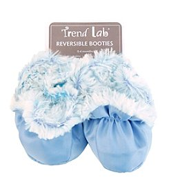 Trend Lab Blue Peek-A-Boo Baby Booties