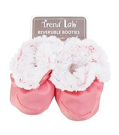 Trend Lab Pink Peek-A-Boo Baby Booties