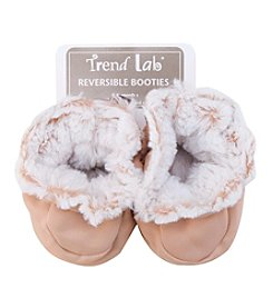 Trend Lab Sand Peek-A-Boo Baby Booties