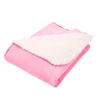 Trend Lab Pink and Cream Receiving Blanket