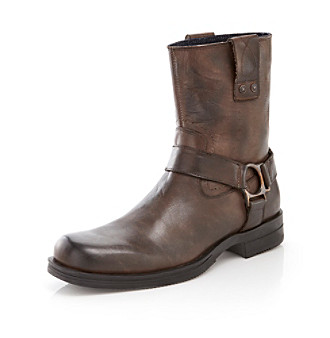 "Calvin Klein Jeans® Men's ""Lian"" Boot - Dark Brown/Black"