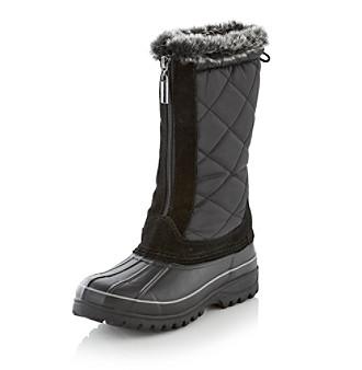 """Khombu® """"Upland"""" Cold Weather Boot - Black"""