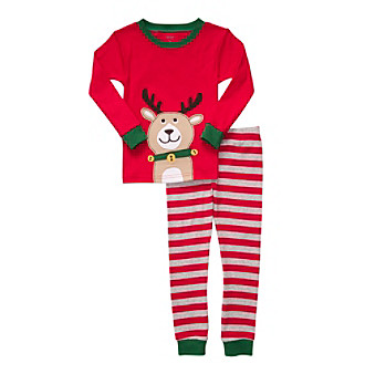 Carter's® Boys' 12M-4T Red Reindeer 2-pc. Pajama Set