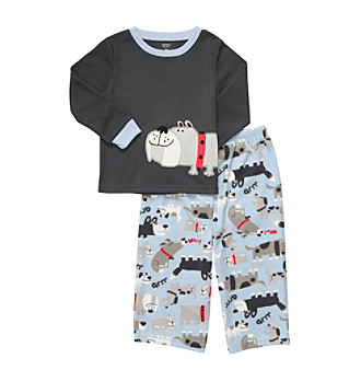 Carter's® Boys' 12M-4T Blue Dog 2-pc. Pajama Set