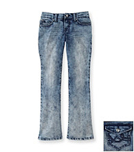 Jessica Simpson Girls' 7-16 Medium Wash Sunshine Bootcut Jeans
