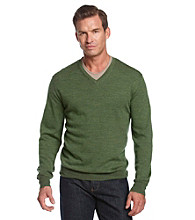 Kenneth Roberts Platinum® Men's Merino V-Neck Sweater
