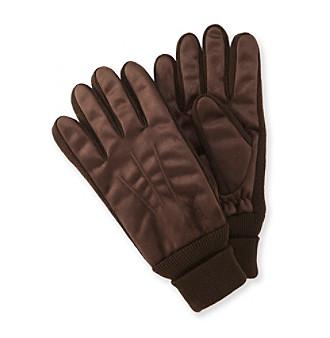 Isotoner® Men's Brushed Microfiber Gloves