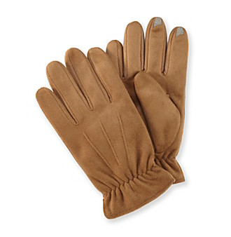 Isotoner® Men's smarTouch® Microfiber Gloves