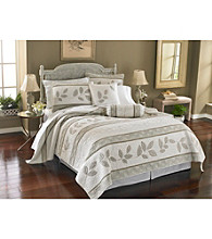 Platinum Leaves Quilt Collection by Lenox®