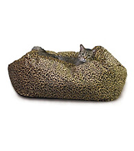 K&H Pet Products Leopard Kitty Cuddle Cube