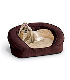 K&H Pet Products Deluxe Ortho Bolster Sleeper Bed