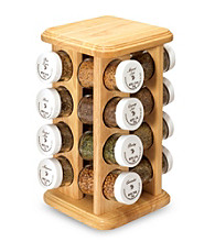 Kamenstein® 16 Jar Filled Revolving Spice Rack