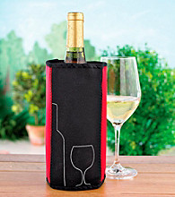 Wine Enthusiast Ice Jacket Instant Wine Chiller