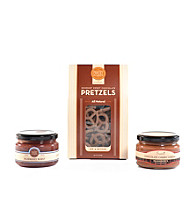 Hammond's Candies® Chocolate Pretzels Dip Set