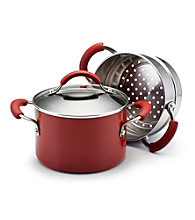 KitchenAid 3-Quart Covered Saucepot with Stainless Steel Steamer Insert