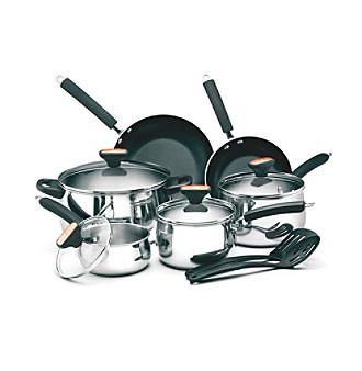 Paula Deen® Signature 12-pc. Stainless Steel Cookware Set